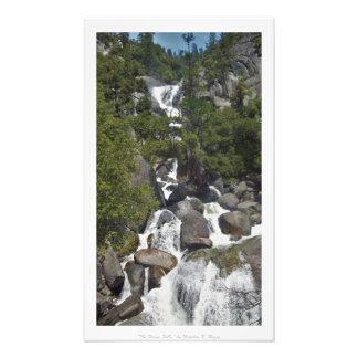 """The Forest Falls,"" Yosemite Nature Decor Photograph"