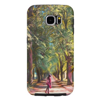The forest grump road samsung galaxy s6 cases