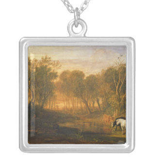 The Forest of Bere, c.1808 Silver Plated Necklace