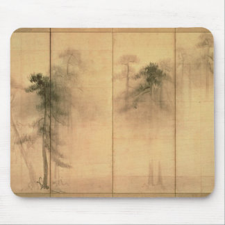 The forest of pines mouse mat