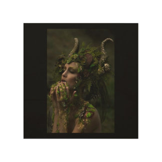 The Forest Queen. Wood Wall Decor