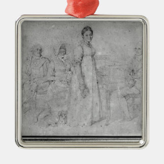 The Forestier Family, 1806 Christmas Ornament