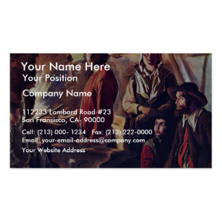 The Forge (C.) In His Workshop By Le Nain Louis (B Pack Of Standard Business Cards