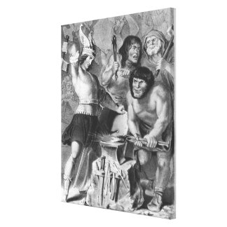 The Forge of Vulcan Canvas Print