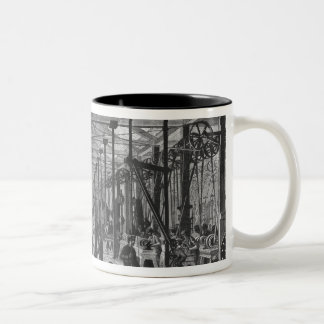 The forges of Ivry Two-Tone Coffee Mug