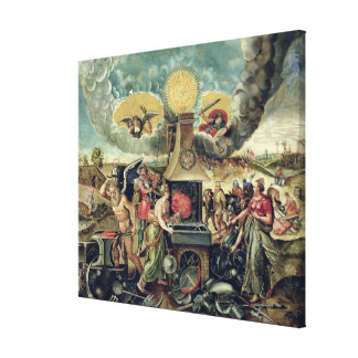 The Forges of Vulcan with Time Turning Weapons Canvas Print