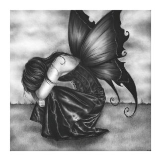 The Forgotten Fairy Canvas Print