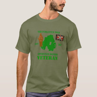 The Forgotten War Op Banner Veteran T-shirt