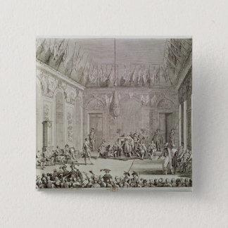 The Formal Audience of the Directory 15 Cm Square Badge