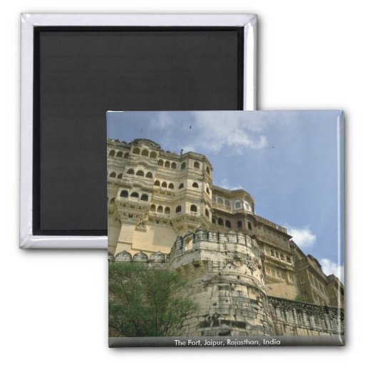 The Fort, Jaipur, Rajasthan, India Refrigerator Magnets