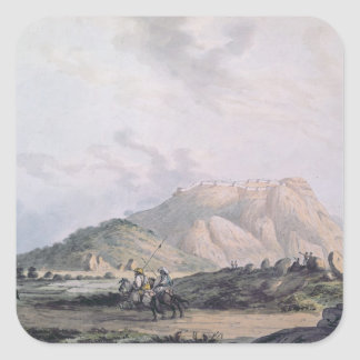 The Fort of Nandidong during the third Mysore Sticker