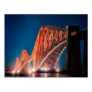 The Forth Bridge in Scotland Postcard