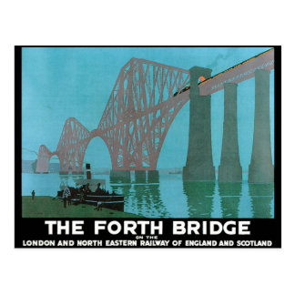 The Forth Bridge - North Eastern Railway Postcard