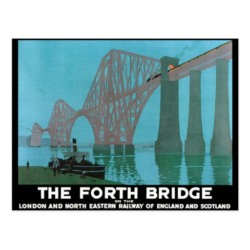 The Forth Bridge - North Eastern Railway Post Cards