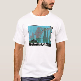 The Forth Bridge - North Eastern Railway T-Shirt