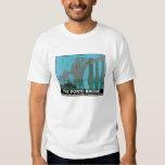 The Forth Bridge - North Eastern Railway T-shirts