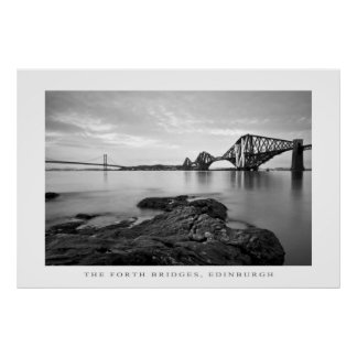The Forth Bridges, Edinburgh - Print