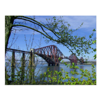 The Forth Rail Bridge Postcard