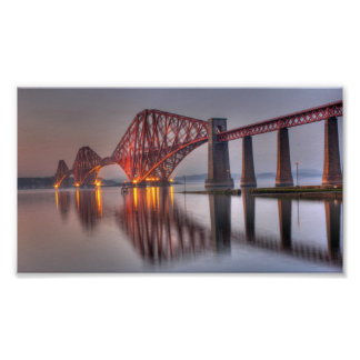The Forth Rail Bridge Poster