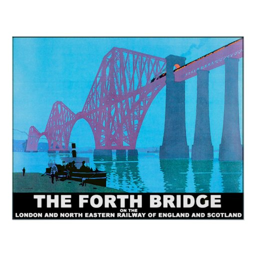 The Forth Road Bridge Print