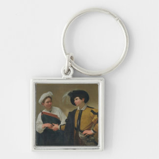 The Fortune Teller (La Buona Ventura), c.1594 Key Ring