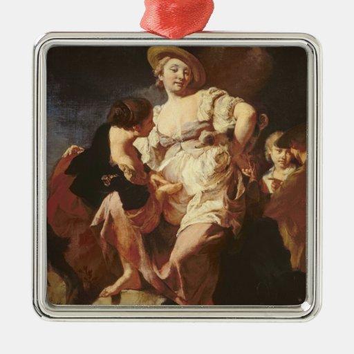 The Fortune-teller (L'Indivona), 1740 Christmas Tree Ornament