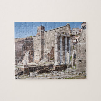 The Forum of Augustus is one of the Imperial 3 Jigsaw Puzzle