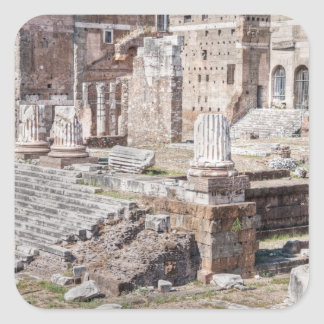 The Forum of Augustus is one of the Imperial Square Sticker