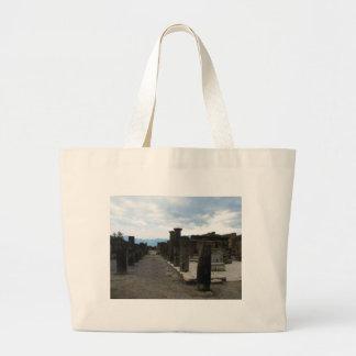 The FORUM OF POMPEII - Column fragments Canvas Bag