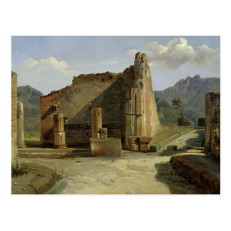 The Forum of Pompeii Post Card