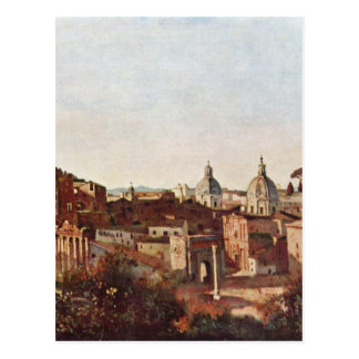 The Forum seen from the Farnese Gardens, Rome Postcard