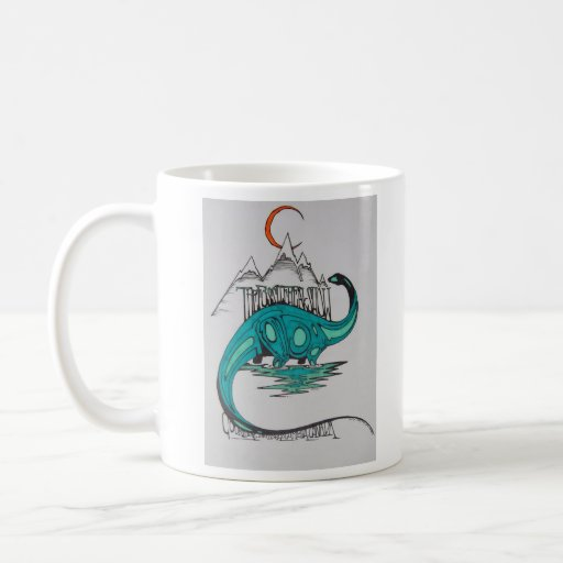 the Fossil Freak Show Coffee Mug