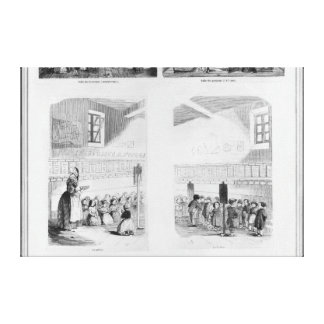 The foundling home canvas print