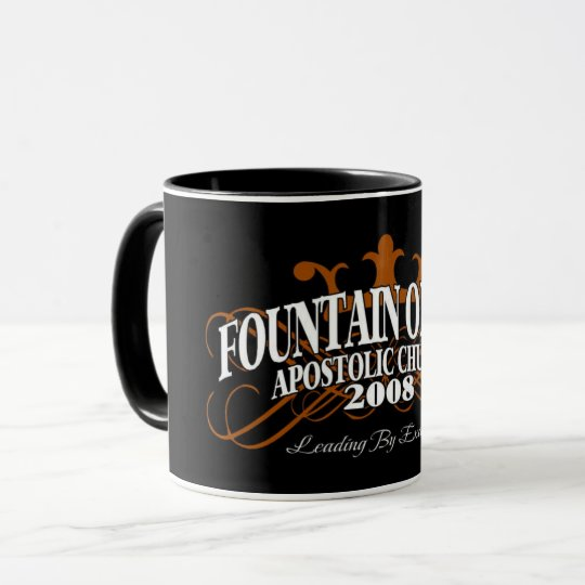 "The Fountain ""Leading By Example"" Mug"
