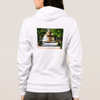 The fountain of object of the Kure Portopia which Hoodie