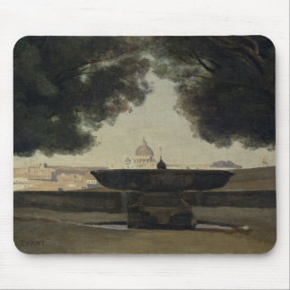 The Fountain of the French Academy in Rome Mouse Mat