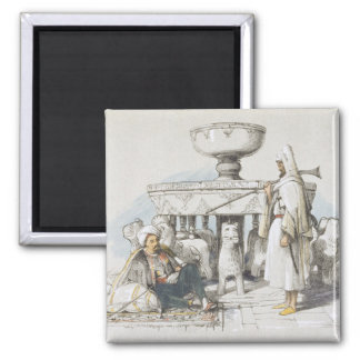 The Fountain of the Lions, Vignette from 'Sketches Magnet
