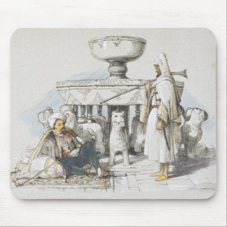 The Fountain of the Lions, Vignette from 'Sketches Mouse Mat