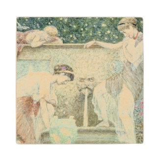 The Fountain Wood Coaster