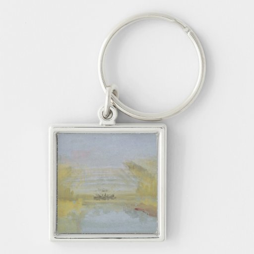 The Fountains at Versailles, 1826-33 Key Chain