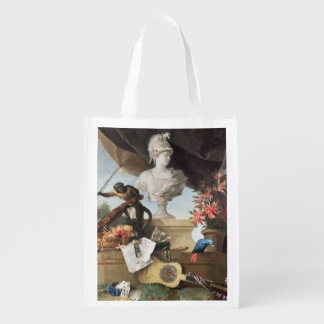 The Four Continents: Europe, 1722 (oil on canvas) Reusable Grocery Bag