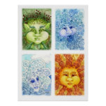 The Four Elements Print