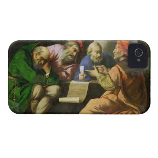 The Four Fathers of the Church (oil on canvas laid Case-Mate iPhone 4 Case