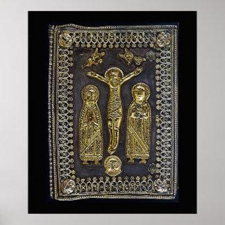 The Four Gospels Book Binding Poster