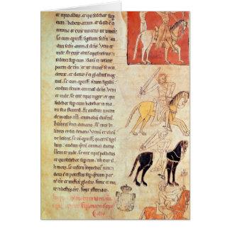 The Four Horsemen of the Apocalypse Card