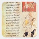 The Four Horsemen of the Apocalypse Square Sticker