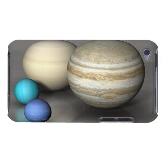 The Four Largest Planets Barely There iPod Cases