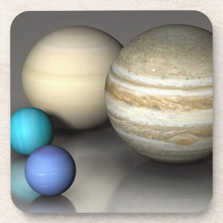 The Four Largest Planets Coaster