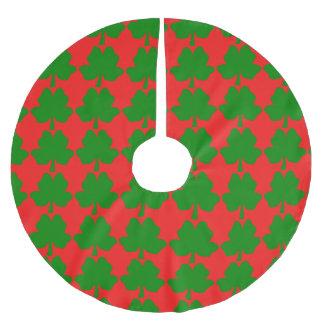 The Four-Leaf Clover For Luck Tree Skirt