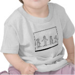 The Four Little Children Who Went Round the World T-shirts